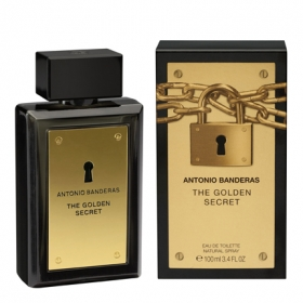 Eau de toilette golden secret vaporizador
