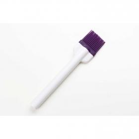 Pincel de Silicona  CARREFOUR HOME Specifique 22,8cm. - Morado
