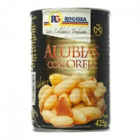 Alubias con oreja Rogusa 425 g.