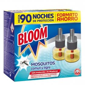 Insecticida continuo antimosquitos común y tigre Bloom 2 recambios.