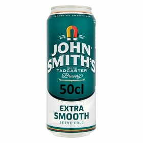 Cerveza John Smith's extra suave lata 50 cl.