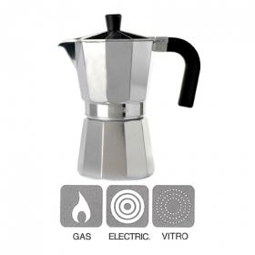 Cafetera aluminio mod vitro expre 9 tazas