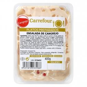 Ensalada de cangrejo Carrefour 400 g