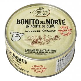 Bonito del Norte en aceite de oliva De Nuestra Tierra 202 g.