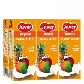 Zumo fruta+leche Tropical