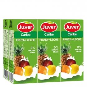 Zumo fruta+leche Caribe
