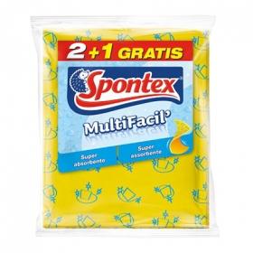 Bayeta amarilla multifacil 2+1