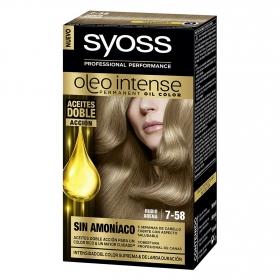 Tinte sin amoníaco oleo intense 7-58 rubio arena SYOSS 1 ud.