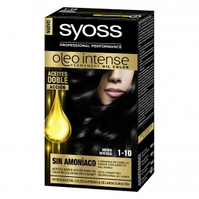 Tinte sin amoníaco oleo intense 1-10 negro intenso SYOSS 1 ud.