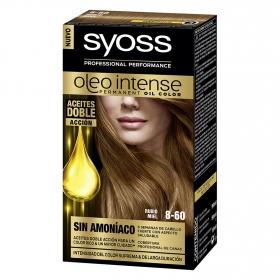 Tinte sin amoníaco oleo intense 8-60 rubio miel SYOSS 1 ud.