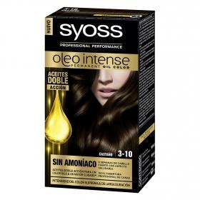 Tinte sin amoníaco oleo intense 3-10 castaño SYOSS 1 ud.