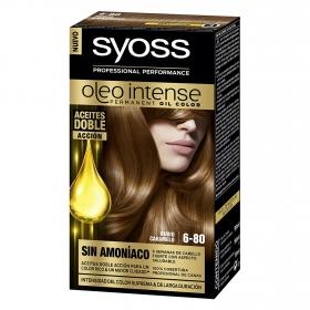Tinte sin amoníaco oleo intense 6-80 rubio caramelo SYOSS 1 ud.