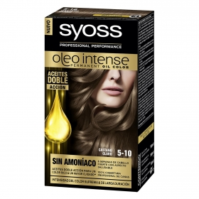 Tinte sin amoníaco oleo intense 5-10 castaño claro