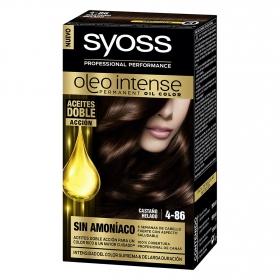 Tinte sin amoníaco oleo intense 4-86 castaño helado SYOSS 1 ud.