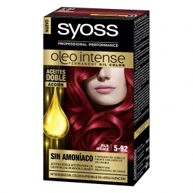 Tinte sin amoníaco oleo intense 5-92 rojo intenso SYOSS 1 ud.