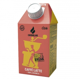 Café latte Candelas 500 ml.