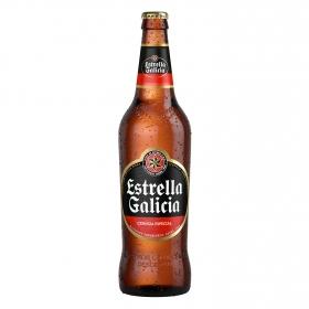 Cerveza Estrella Galicia botella 66 cl.