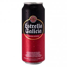 Cerveza Estrella Galicia especial lata 50 cl.