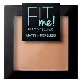 Polvos compactos matificantes FIT me! nº 250 Sun beige Maybelline 1 ud.