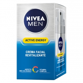 Crema facial Active Energy Revitalizante Nivea Men 50 ml.