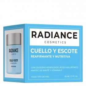 Crema cuello y escote para todo tipo de piel Radiance 50 ml.