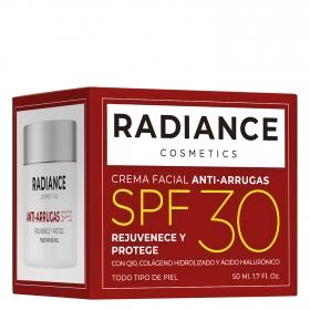 Crema facial anti-arrugas SPF30 para todo tipo de piel