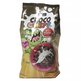 Cereales con chocolate Chocochips Ceridés sin gluten 500 g.