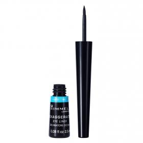 Perfilador de ojos negro Exaggerate waterproof Rimmel 1 ud.