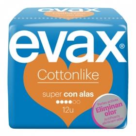 Compresa Cottonlike super con alas