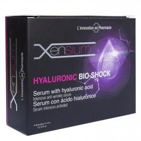Ampollas de sérum con ácido hialurónico Bio Shock