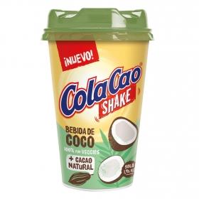 Batido de cacao y coco shake Cola Cao 200 ml.