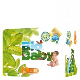 Pañal Eco recién nacido T1 (3-6 kg.)