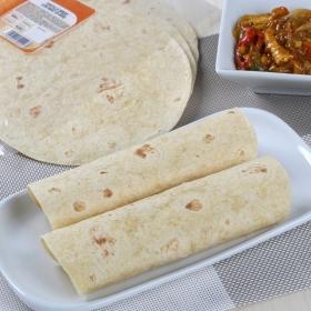Tortilla wrap con maiz