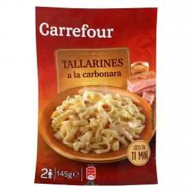 Tallarines a la Carbonara Carrefour 145 g.
