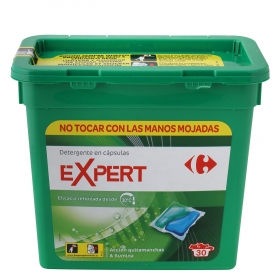 Detergente en cápsulas Expert verde
