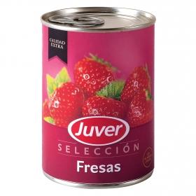 Fresas en Almíbar