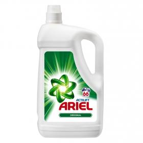 Detergente líquido Ariel 66 lavados