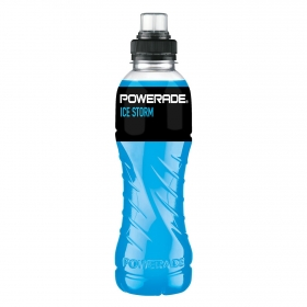Bebida Isotónica Ice Storm Powerade botella 50 cl.