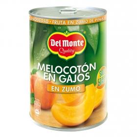 Melocotón en zumo en gajos Del Monte 235 g.