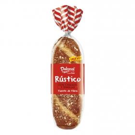 Pan de molde rústico con cereales y semillas DulceSol 400 g.