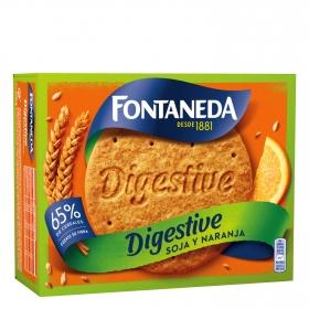 Galletas Digestive Soja y Naranja