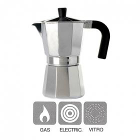 Cafetera aluminio mod vitro expre 3 tazas