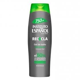 Gel de baño hidratante recicla Instituto Español 750 ml.