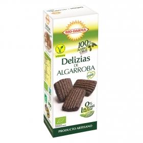 Galleta Delizias de Algarroba Sin Lactosa Bio