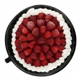Tarta de Nata con Fresas 12 raciones