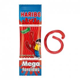 Regaliz de goma Mega Torcidas Haribo 200 g.