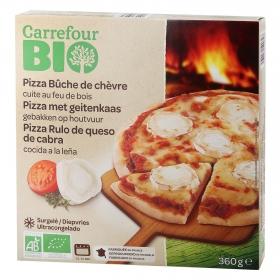 Pizza queso cabra ecológica