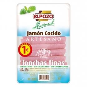 Jamón Cocido Artesano en lonchas