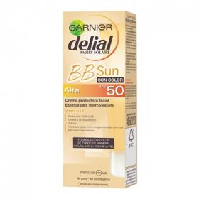Crema solar fácial con color FP 50 BB Sun