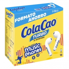Cacao soluble instantáneo Cola Cao Turbo 2,75 kg.